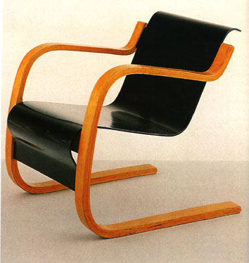Alvar Also Designed And Made Model No.31 At Around The Same Period. This  Was A Cantilevered Chair. Both Were Very Contemporary At The Time.