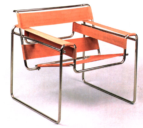 Breuer 39 s wassily chair for Chaise wassily
